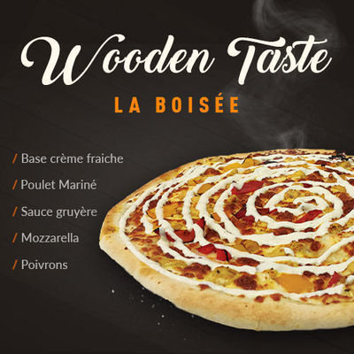 "Wooden Taste ""La Boisée"""
